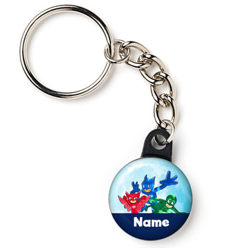 "Pajama Heroes Personalized 1"" Mini Key Chain (Each)"