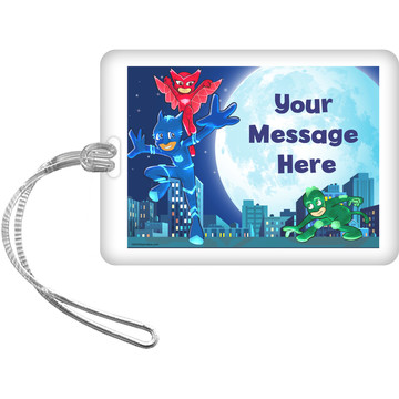 Pajama Heroes Personalized Luggage Tag (Each)