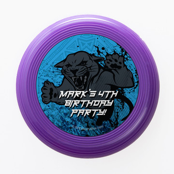 Panther King Personalized Mini Discs (Set of 12)