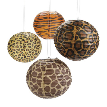 Paradise Safari Paper Lanterns (12)