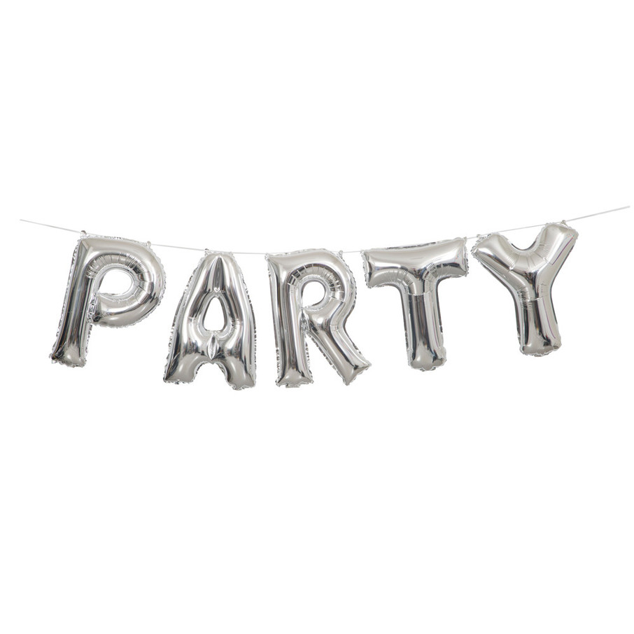 View larger image of Party Balloon Letter Banner