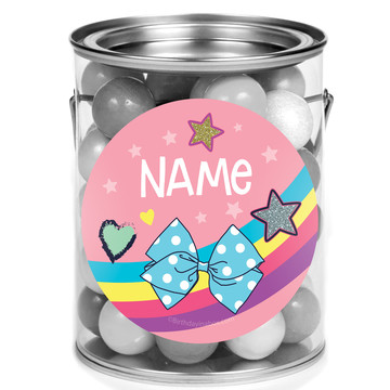 Party Bows Personalized Mini Paint Cans (12 Count)