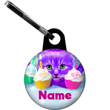 Party Cats Personalized Zipper Pull (Each)