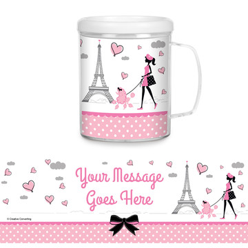 Party in Paris Personalized Favor Mug (Each)