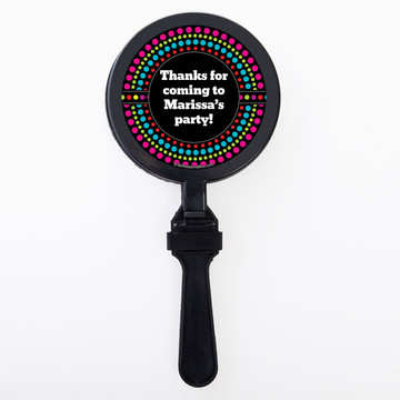 Party On Personalized Clappers (Set Of 12)