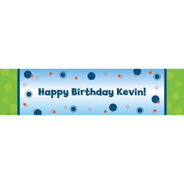Party Personalized Banner (each)