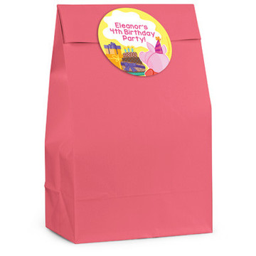 Party Pig Personalized Favor Bag (12 Pack)