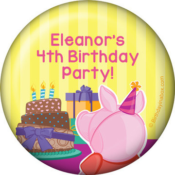 Party Pig Personalized Magnet (Each)