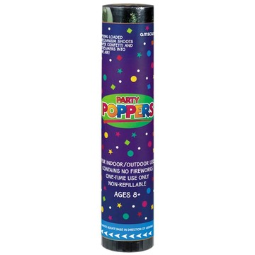 "Party Poppers 8"" Confetti (Each)"