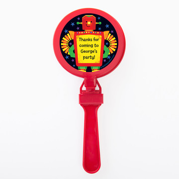 Party Robot Personalized Clappers (Set of 12)