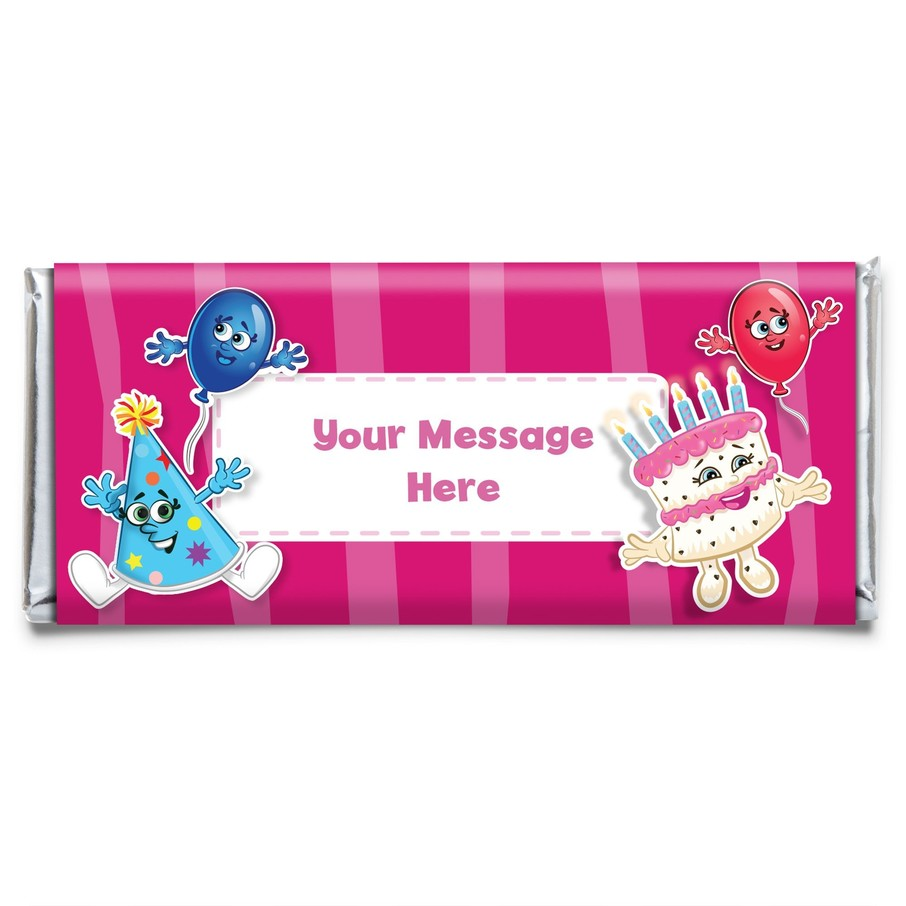 View larger image of Partykin Personalized Candy Bar Wrapper (Each)