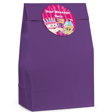 Partykin Personalized Favor Bag (12 Pack)