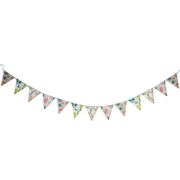 Pastries Pearls Printed Flag Banner