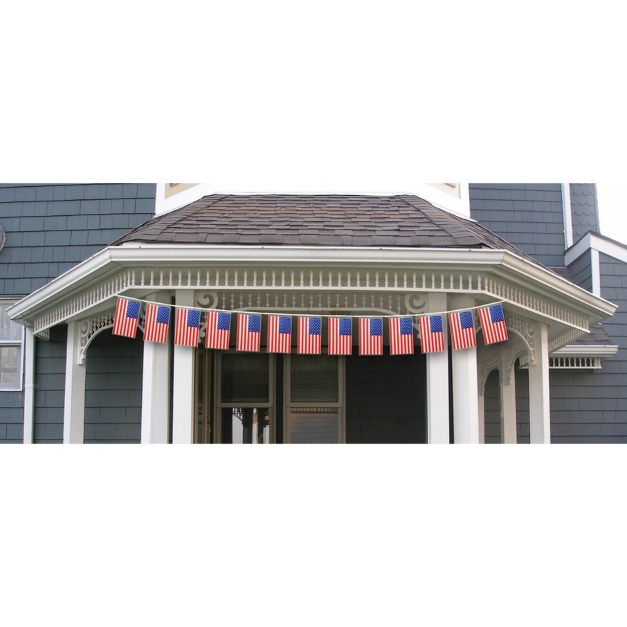 View larger image of Patriotic 15' Flag Banner
