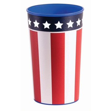 Patriotic 16oz. Plastic Favor Cup (1)