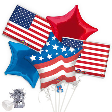 Patriotic Balloon Bouquet Kit