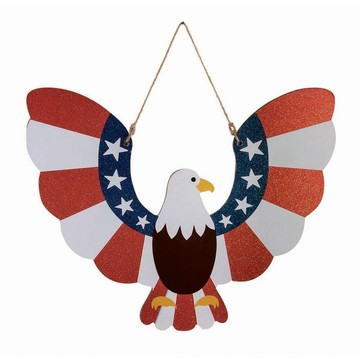 Patriotic Eagle Plaque