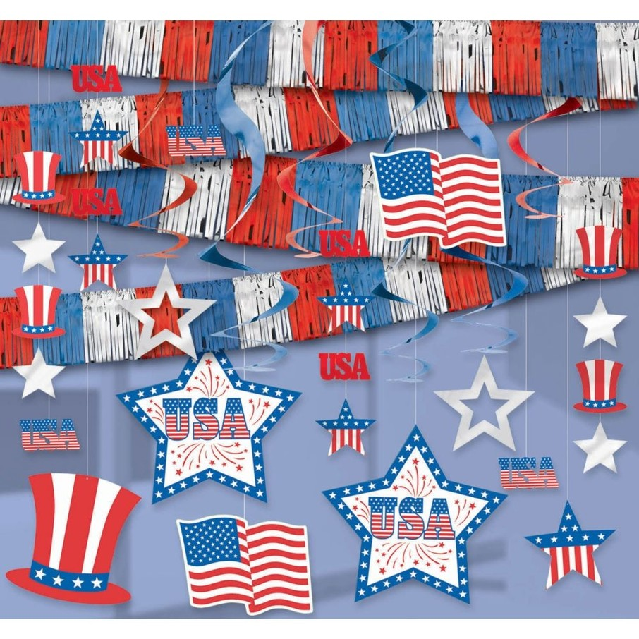 View larger image of Patriotic Room Decorating Kit (Each)