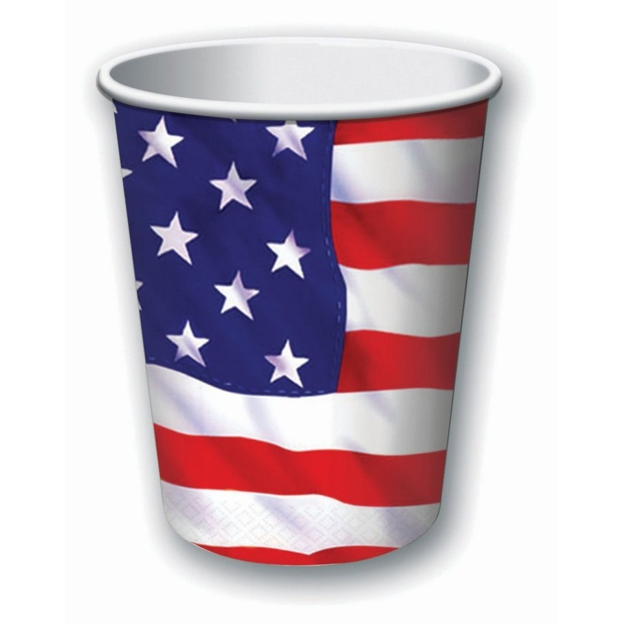 View larger image of Patriotic Stars & Stripes 9oz. Cup (8)