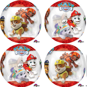 "Paw Patrol 16"" Orbz Balloon (Each)"
