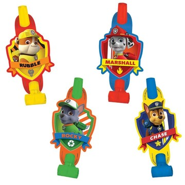 "Paw Patrol 5"" Blowouts (8 Pack)"