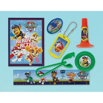 Paw Patrol Adventures Mega Mix Favors