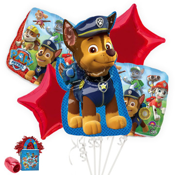 PAW Patrol Chase Balloon Bouquet Kit