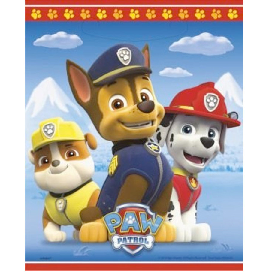 View larger image of Paw Patrol Favor Lootbags (8 Pack)