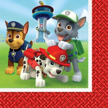 Paw Patrol Lunch Napkins (16 Pack)