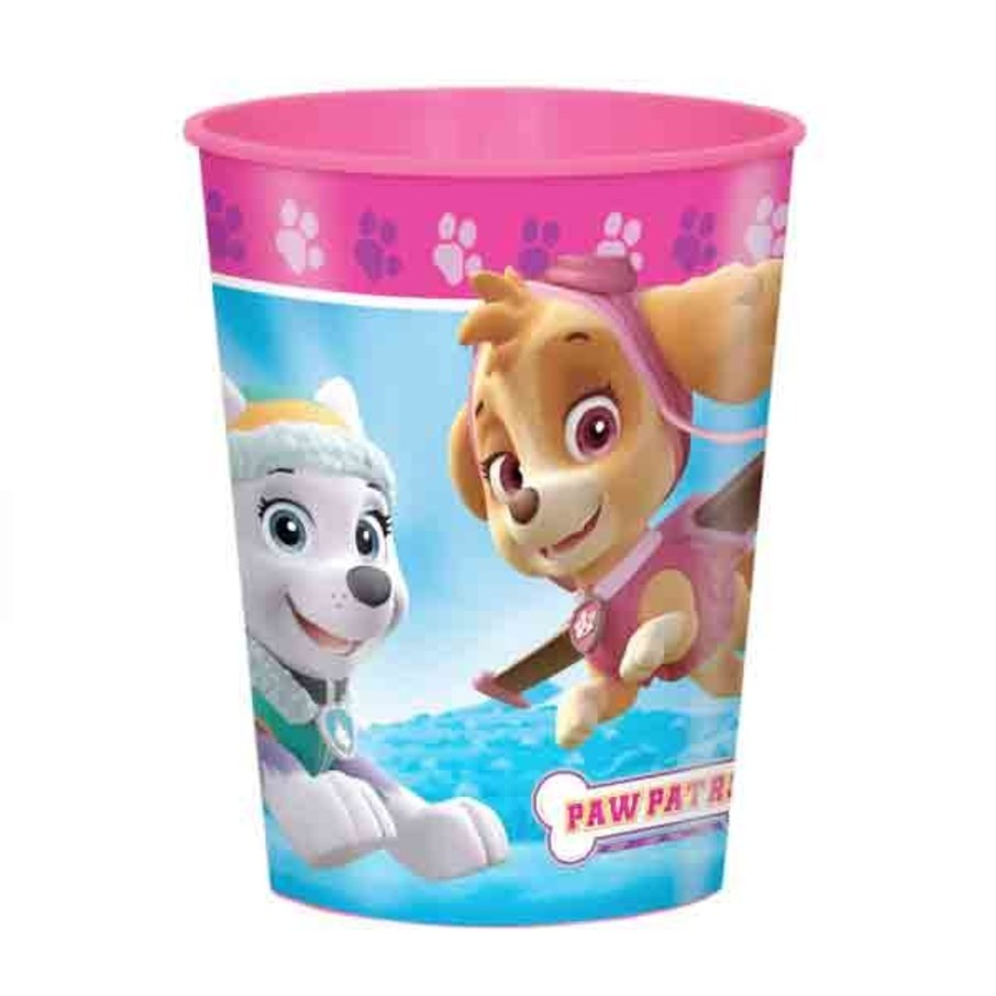 View larger image of Paw Patrol Pink 16oz Plastic Favor Cup (Each)