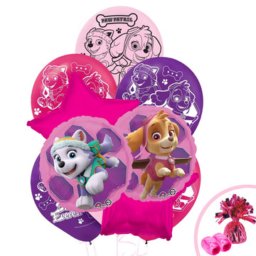 Paw Patrol Pink Balloon Bouquet Kit
