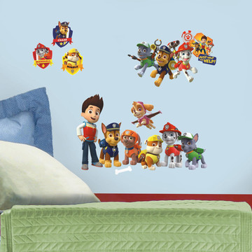 PAW Patrol Wall Decals (37 Pieces)