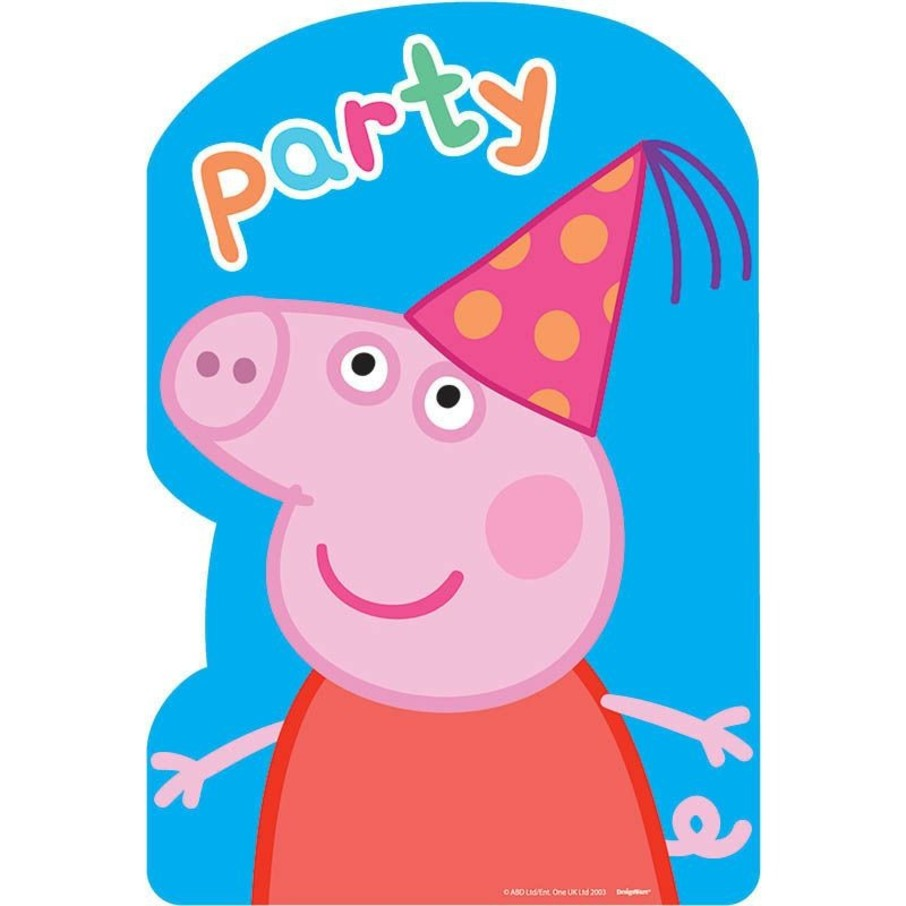 View larger image of Peppa Pig Invitations (8 Count)