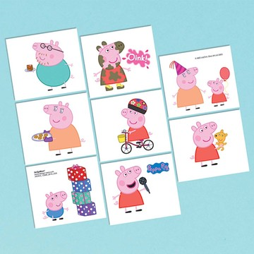 Peppa Pig Tattoo Sheet (1)