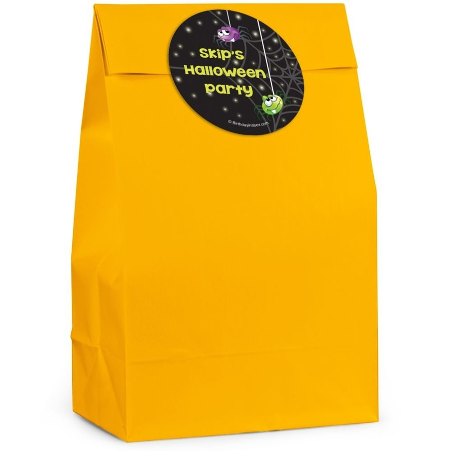 View larger image of Perfect Pumpkin Personalized Favor Bag (Set Of 12)