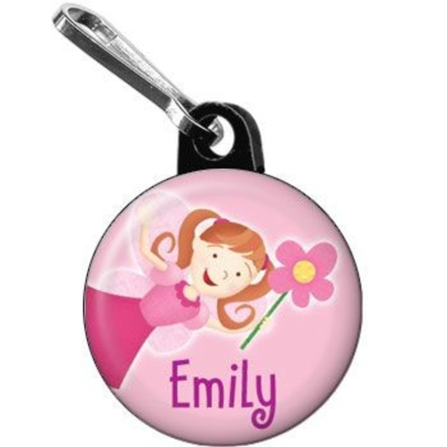 View larger image of Perfectly Pink Personalized Mini Zipper Pull (each)