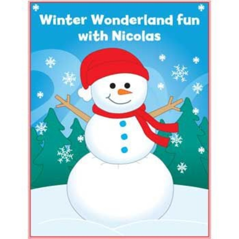 View larger image of Personalized Winter Coloring Book (each)
