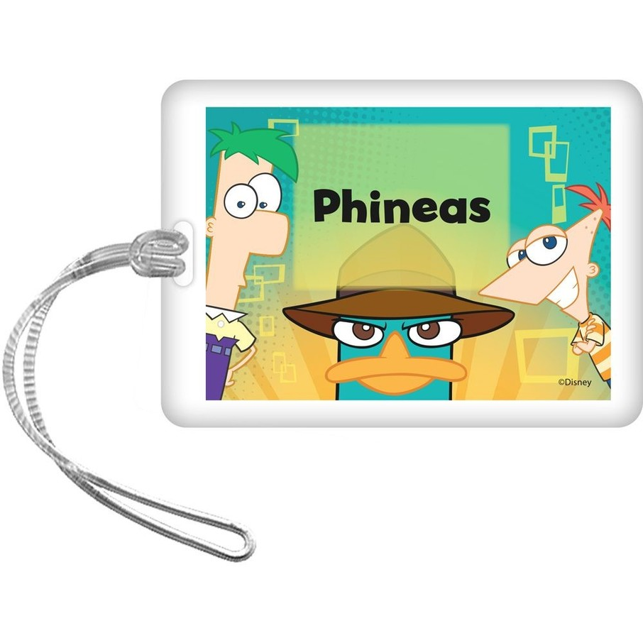 View larger image of Phineas And Ferb Personalized Bag Tag (Each)