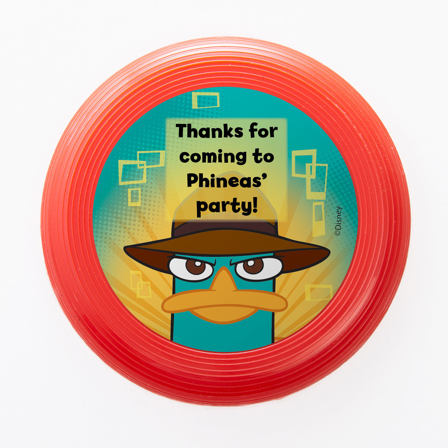 View larger image of Phineas And Ferb Personalized Mini Discs (Set Of 12)