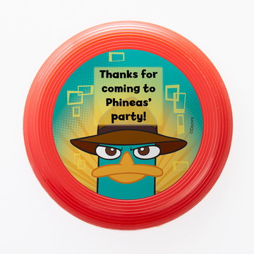 Phineas And Ferb Personalized Mini Discs (Set Of 12)