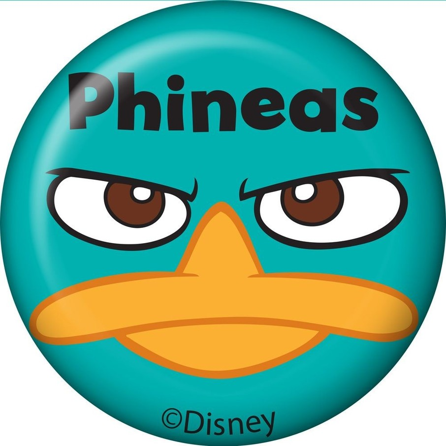 View larger image of Phineas And Ferb Personalized Mini Magnet (Each)