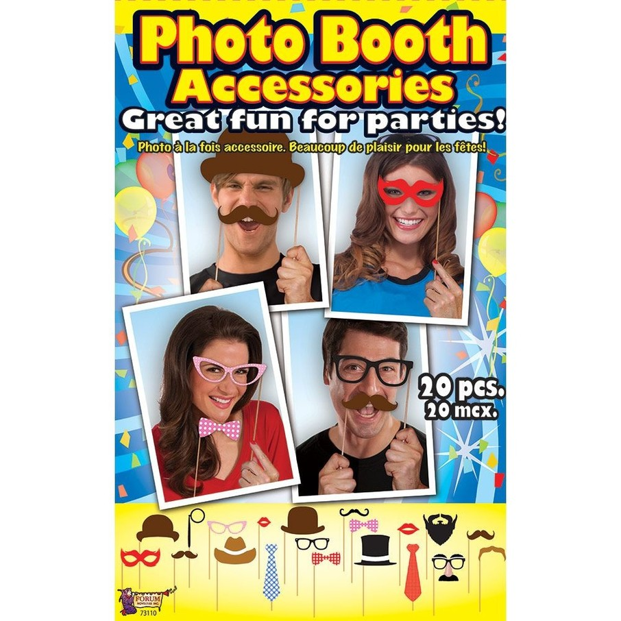 View larger image of Photo Booth Accessory Kit (20 Pieces)
