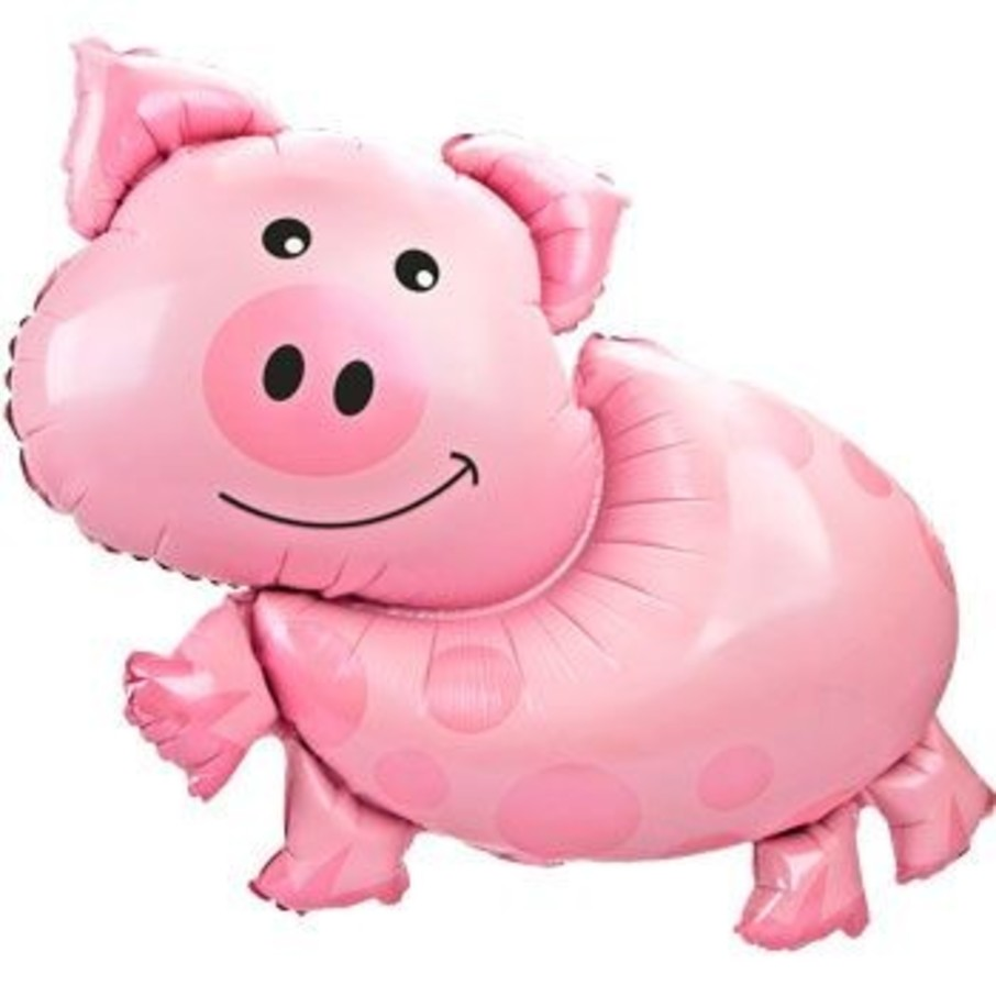 View larger image of Pig Balloon (each)