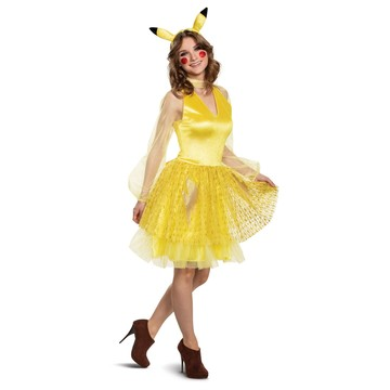 Pikachu Female Deluxe Adult Costume