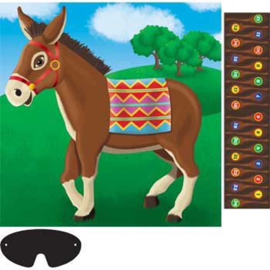 View larger image of Pin The Tail On The Donkey Game (for 24 Players)