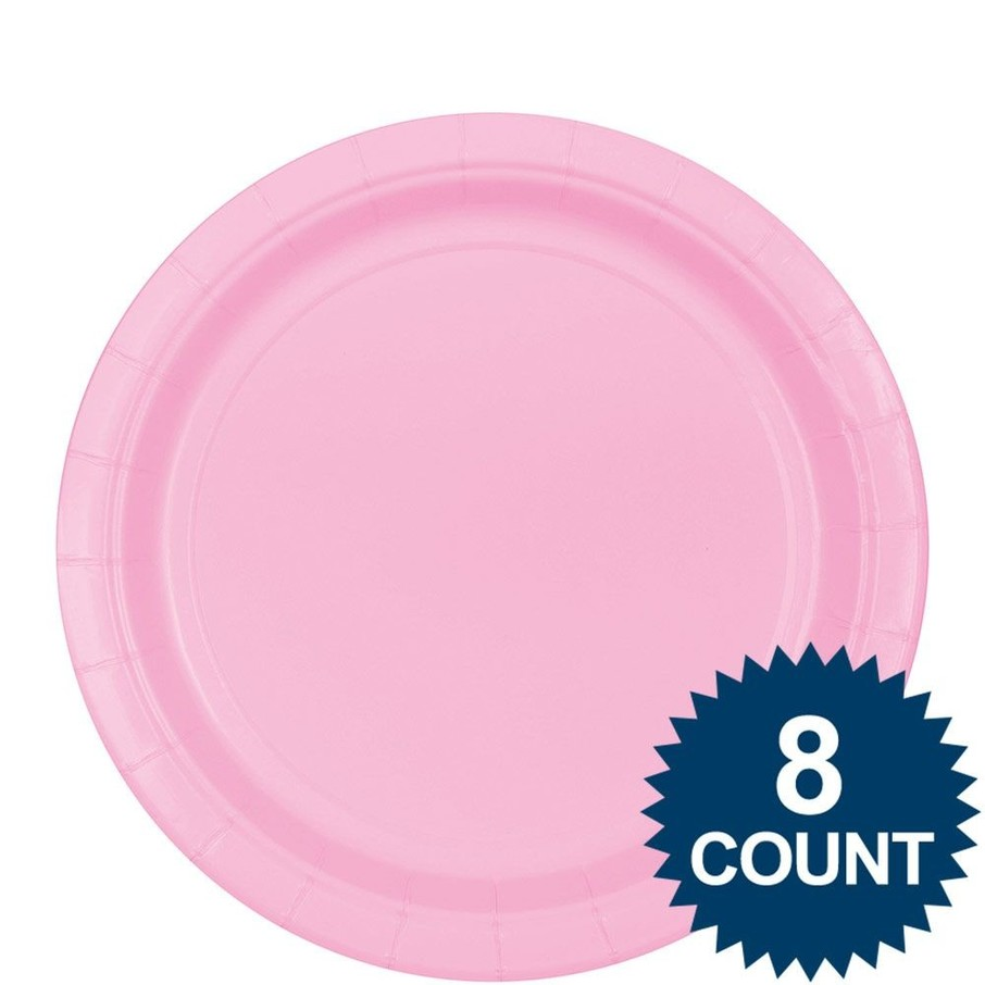 "View larger image of Pink 9"" Paper Plate, 8ct."