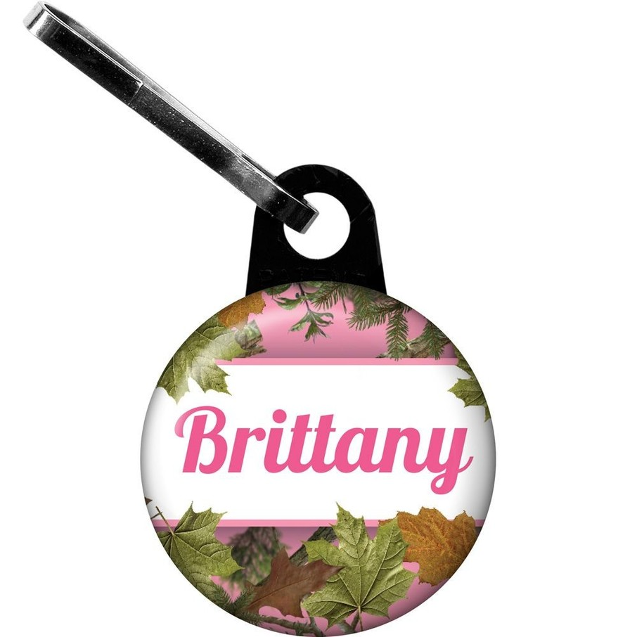 View larger image of Pink Cover Personalized Mini Zipper Pull (Each)