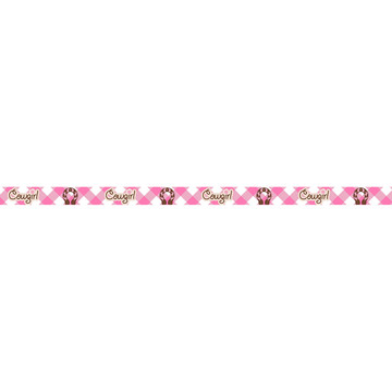 "Pink Cowgirl Grosgrain Ribbon (3/8"")"