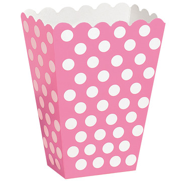 Pink Dot Treat Boxes
