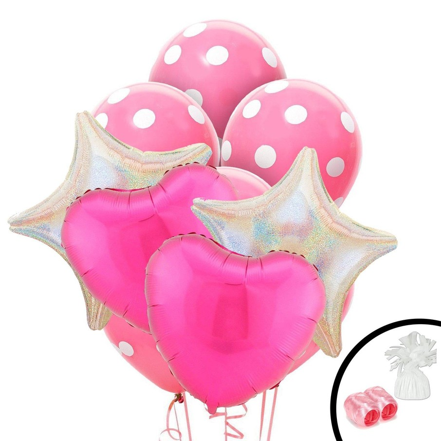 View larger image of Pink Heart Balloon Bouquet